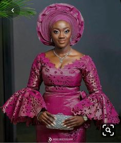 Enchanting aso ebi styles that will inspire you - Opera News Official African Lace Styles, African Lace Dresses, Latest African Fashion Dresses, African Blouses, Nigerian Wedding Dresses Traditional, African Traditional Wedding, African Fashion Traditional, African Wedding Attire, Yoruba Wedding