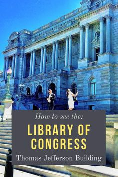 The oldest of the four Congress libraries is a popular tourist destination each year. Here's how to see the Library of Congress: Thomas Jefferson Building.