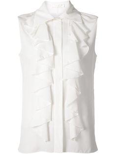 Chloé Sleeveless Ruffle Shirt - Kirna Zabête - Farfetch.com