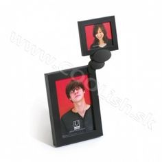 Umbra Thinker Frame from Red Candy Ltd Photo Frame Display, Photo Displays, Black Photo Frames, Picture Frames, Home Office Accessories, Multi Photo, Collage Frames, Red Candy, Valentines