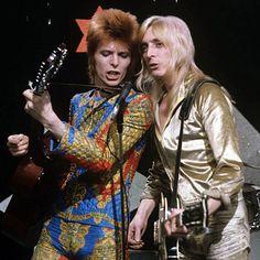1972 Lift Off - David Bowie Photos