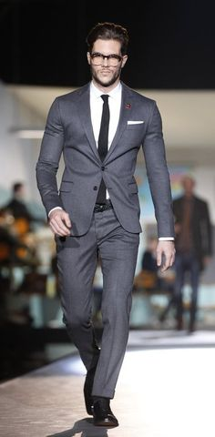 Grey suit. Great hair. Is THIS my wedding suit? | Hair | Pinterest ...