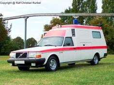 Volvo 265 Ambulance Regierungskrankenwagen der DDR-Staatsspitze - fotografiert am 05.09.2009