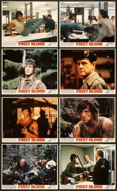 The Fall Guy, Rambo, First Blood, Pumping Iron, War Film, The Expendables, Sylvester Stallone, Film Stills, Classic Movies