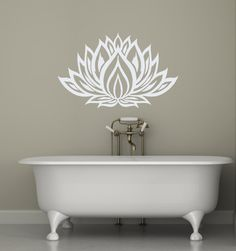 This listing is for Lotus Flower Wall Decals - Yoga Vinyl Decal - Interior Home Decor - Housewares Art Vinyl Sticker Whether you're shopping for your own interior or giving as a gift, wall vinyl decals by BestDecals are just what you're looking for! This Vinyl Decal will be perfect