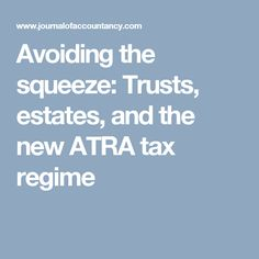 Revocable living trust flow chart for estate planning favorite avoiding the squeeze trusts estates and the new atra tax regime tax rate trust fandeluxe Choice Image