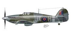 Hawker Hurricane MK.IIC – Nº 1 Squadron, RAF – Redhill, 1942