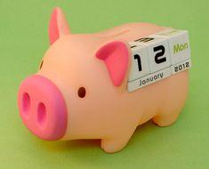 Piggy Calendar