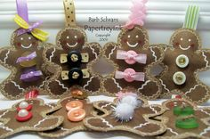 Brown Paper Bag Ornaments by Stampfilled Dreams - Cards and Paper Crafts at Splitcoaststampers