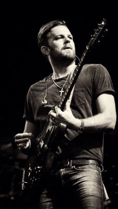 Caleb from Kings of Leon #yeaahh #lovethosemusiclikethat