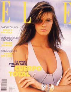 Elle MacPherson  -  Elle Spain Aug 1989
