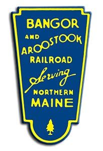 The Bangor and Aroostook Railroad served the state of Maine chartered in 1891.  In 2003 it fell into bankruptcy and today is known as the Montreal, Maine and Atlantic Railway.