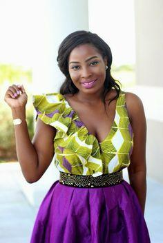 Irony of Ashi: Purple ~African fashion, Ankara, kitenge, African women dresses, African prints, African men's fashion, Nigerian style, Ghanaian fashion ~DKK