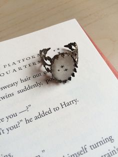 """1. A personalized cake key ring that Hagrid made for you himself.                                      etsy.com  """"Baked it meself, words and all.""""    Get this key ring from EverydayPins on Etsy for $12.          2. A collectible Quidditch set that will, as Harry said"""