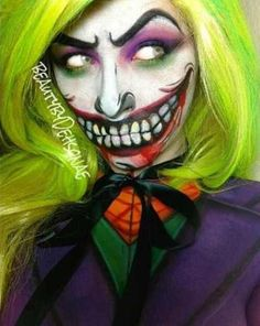 Crazy Joker Makeup