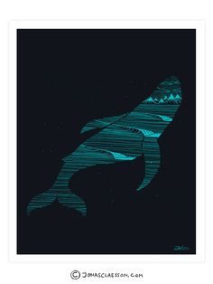 Whale Dreams Art Print