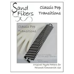 Peyote Pattern Classic Pop Transitions Peyote Cuff by SandFibers