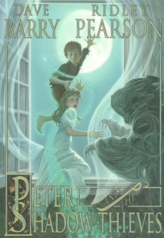 Peter and the Shadow Thieves (Starcatchers) by Dave Barry, http://www.amazon.com/dp/1423108558/ref=cm_sw_r_pi_dp_fQoGqb07NXE50