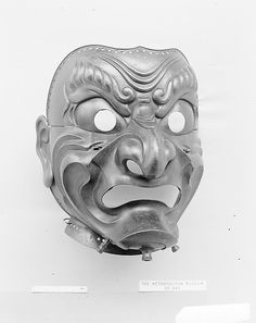 Mask Armorer: Inscribed by Myōchin Muneakira (Japanese, Edo period, 1673–1745) Date: dated 1715 Culture: Japanese Medium: Iron, lacquer Classification: Armor Parts-Masks Accession Number: 13.112.13