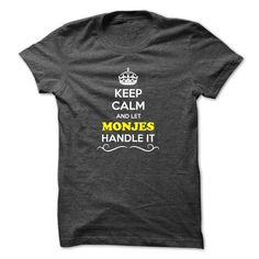 awesome MONJES Design T Shirt New