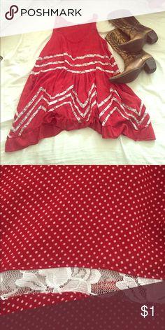Long flirty shirt/ short dress ❤️ Flirty top or dress. Size M. Tops