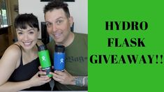 HYDRO FLASK GIVEAWAY!!