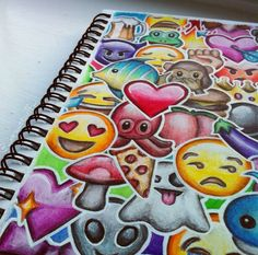 Emoji drawing