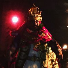 The Demon King Ravana, who kidnapped the beautiful Shinta ( Sita) and took her to his castle in Lanka. She is rescued by Hanuman and his monkey army. The story is retold by the traditional dancers in the Kecak Dance in Ubud, Bali. #bali #kecakdance #ravana #ramayana #hinduism