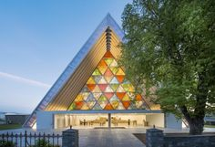 Cardboard Cathedral, 2013, Christchurch, New Zealand Photo by Stephen Goodenough