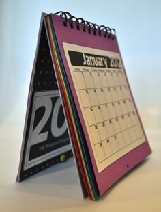 2012 LDS Young Women's Personal Progress Calendar.  Free printable pages and instructions!  Great motivator!