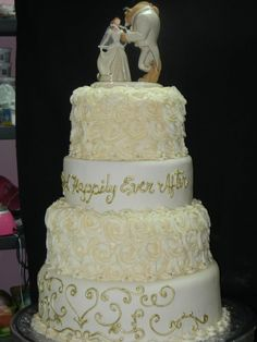 0 Cute Beauty And The Beast Wedding Cake With Photos Of Beauty And ...
