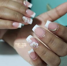 Cute Acrylic Nails, 3d Nails, Acrylic Nail Designs, Cute Nails, Natural Nail Designs, Cute Nail Designs, Sassy Nails, Pretty Nail Art, Elegant Nails