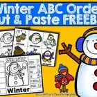 Download this FREEBIE and let students practice their alphabetizing skills along with an adorable snowman. Winter ABC Order Cut and Paste Printable...