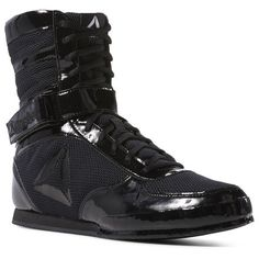 26b800c0647 Reebok Shoes Men s Boxing Boot in Black Black Size 11.5 - MMA Shoes Boxing  Boots