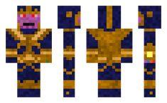 Thanos skin for Minecraft Minecraft Skins, Happy, Ser Feliz, Being Happy