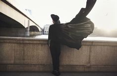 Mikko Puttonen - All Saints Hat, Topman Cape, All Saints Trousers, Balenciaga Shoes - Close your eyes