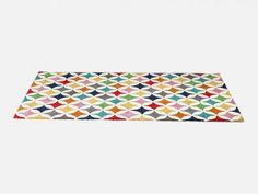 Dywan Campo de Color kolorowy wełna bawełna prostokątny nowoczesny designerski Kare
