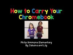 How To Carry Your Chromebook - YouTube