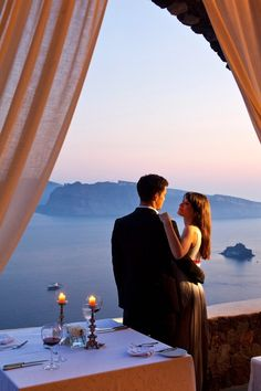 Canaves Oia Villa offers the privacy and luxury that make for the most memorable romantic dinners you'll ever have