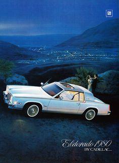 1980´s Cadillac Eldorado. #GM #GeneralMotors #Cadillac #Eldorado