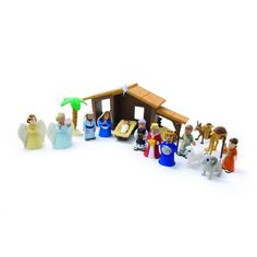 The Nativity Play Set:Amazon:Toys & Games
