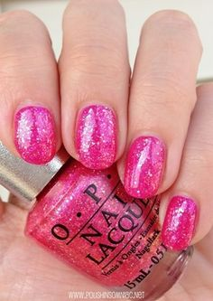 OPI DS Tourmaline (over Kiss Me On My Tulips) with top coat