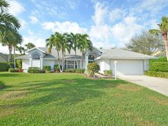 East of A1A! Wonderfully maintained 3br/2ba pool home in guarded Castaway Cove! Bright & open floor plan, formal dining & living room, island kitchen over looking family room w/ views of the pool & beautiful landscaped back yard. High ceilings & split plan. Tile throughout living areas, and 2 car garage. Very short walk to private beach. Sizes are approx/subj to error.