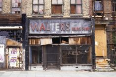 Street art: 'After you've gone, East End Shop Fronts, 1988′ – Now. Here. This. – Time Out London