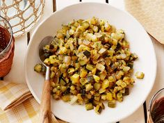 Healthy Spicy Summer Squash with Herbs Recipe : Food Network Kitchen : Food Network