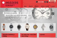 Professional Web Design, Website Development Company, Web Design Services, Beverly Hills, Bling, Watch, Check, Jewel, Clock