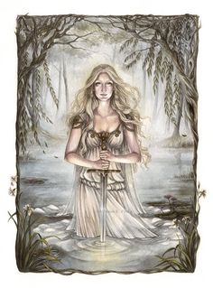 The Lady of the Lake by Achen089 on DeviantArt