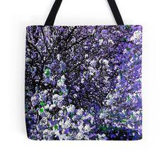 Crepe Myrtle Tree Flower Purple Lilac and Blue:Saundramylesart