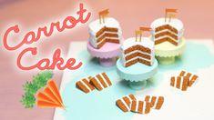 Carrot Cake - Miniature Polymer Clay Tutorial