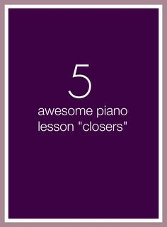 5 minutes left at the end of a piano lesson? Choose one of these 5 activities and send your piano kids out with a smile! Music Lessons For Kids, Piano Lessons, Piano Teaching, Teaching Kids, Learning Piano, Piano Practice Chart, Piano Classes, Teaching Methodology, Playing Piano